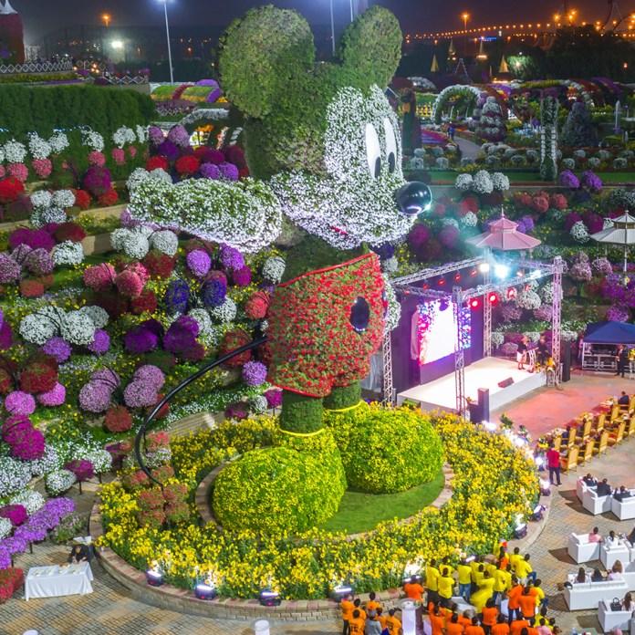 Disney Mickey Mouse in Dubai Miracle Garden