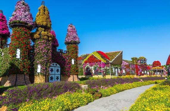 Floral Castle