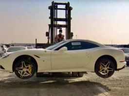 Abandoned Supercars in Dubai
