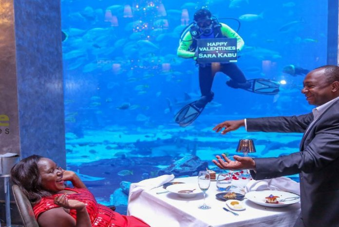 Dubai Underwater Restaurant Ossiano Special Note - Romantic Places in Dubai