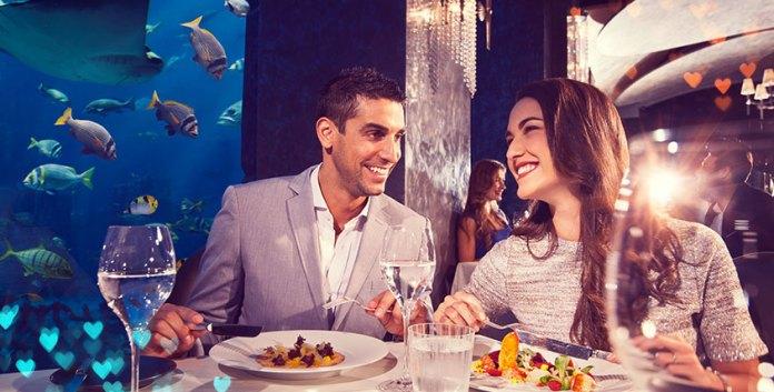 Atlantis Dubai Underwater Restaurant Ossiano