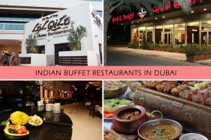 Best 5 Indian Buffet Restaurants in Dubai