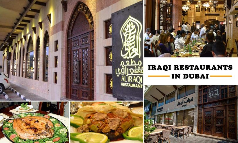 Iraqi Restaurants in Dubai for Iraqi Food