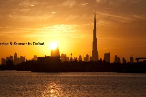 Best Places to Watch Sunrise and Sunset in Dubai