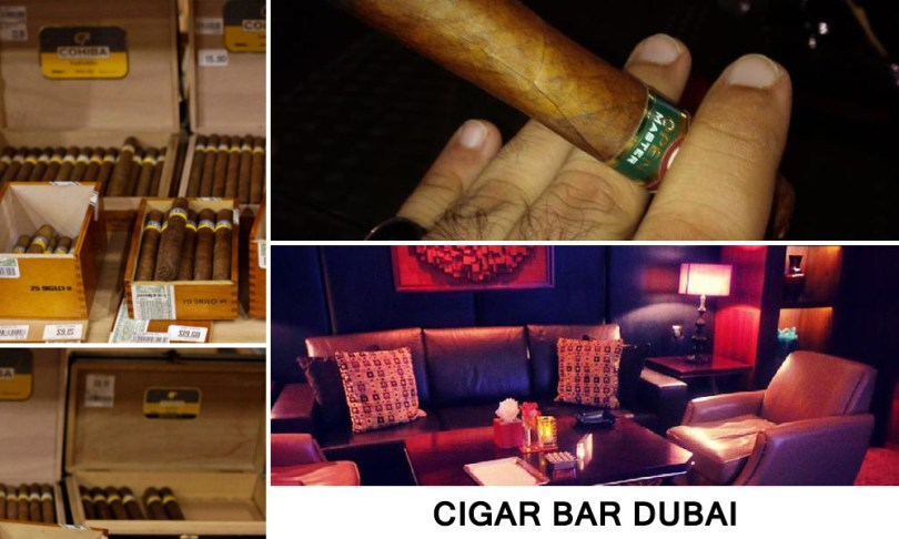 cigar bar dubai