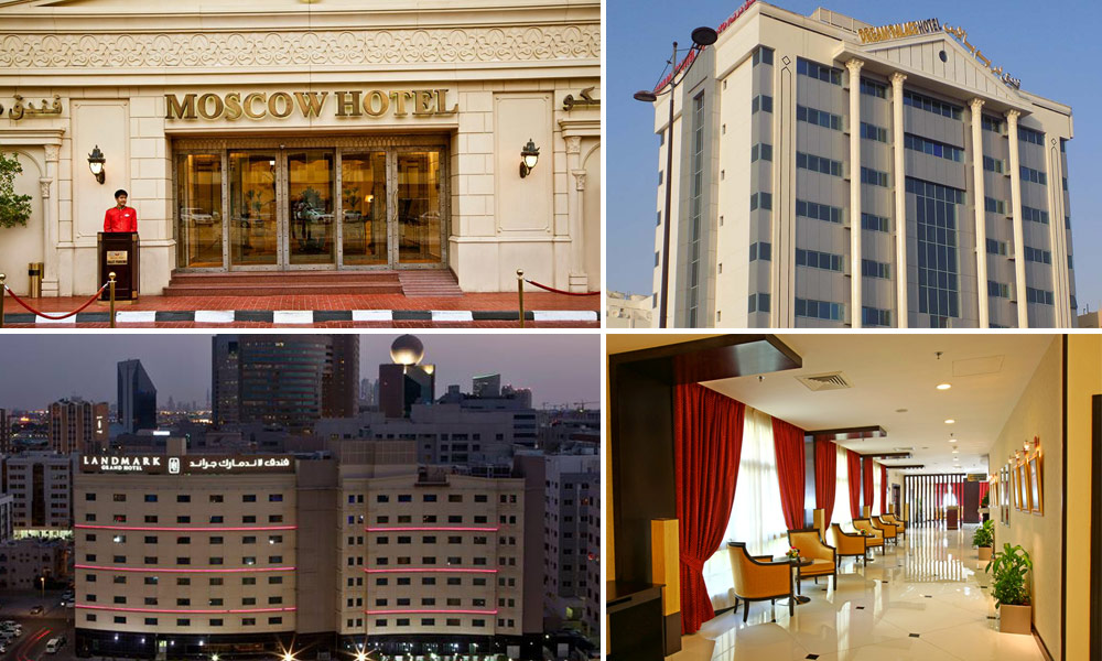 Top 10 low budget hotels in dubai under us 100 for Biggest hotel in dubai