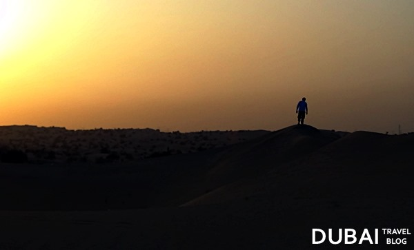 sunset safari dubai