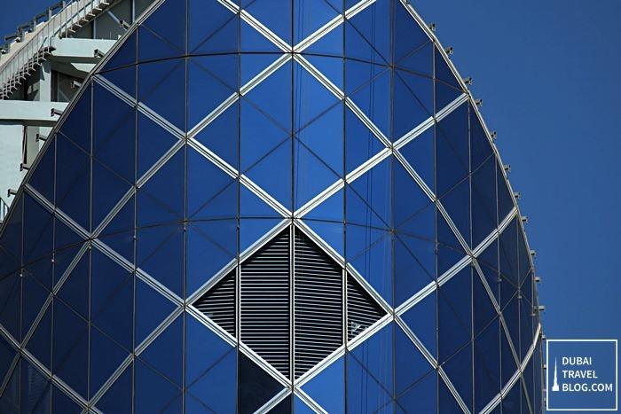 blue building burjuman centre mall