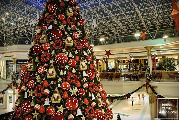christmas at wafi mall dubai