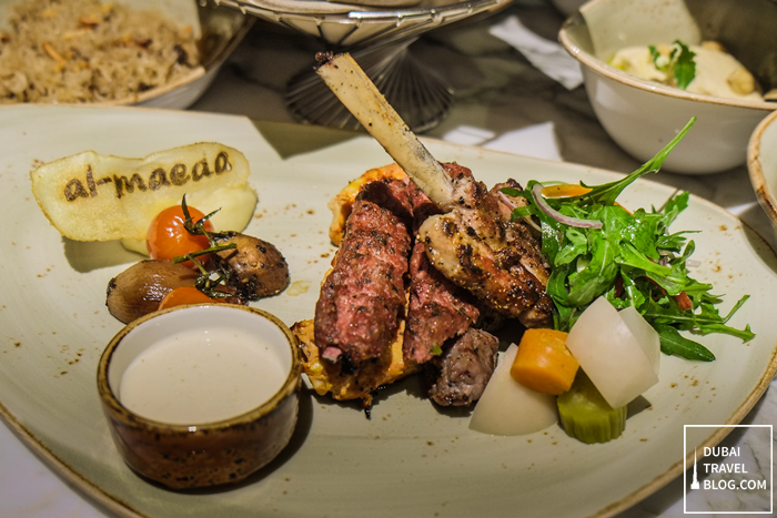 arabic mix grill - al maeda restaurant