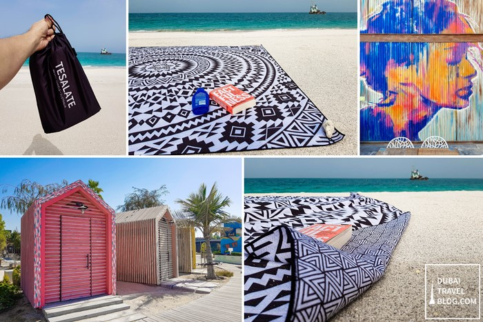 Dubai Tesalate Beach Towel