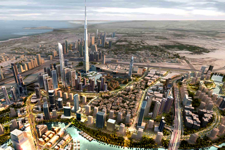Why build the world's biggest mall once, when you can do it twice? Artists impression of the new Mohammed bin Rashid City, courtesy of thenational.ae
