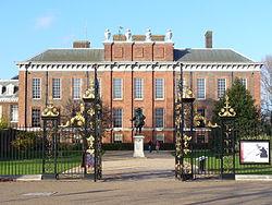 The 'apartment' at Kensington Palace