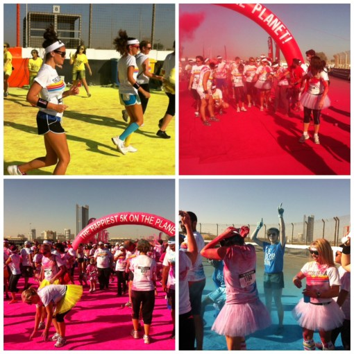 The 5K with a twist turned Dubai's Autodrome into a kaleidoscope of colour on Saturday morning