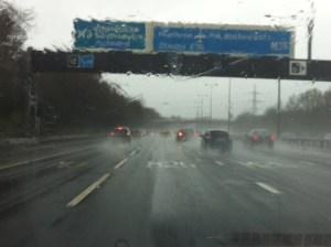Waterlogged UK, but wonderful nevertheless