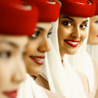 Middle East airlines take glamour to new heights