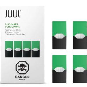 Cool Cucumber JUUL Pod 4 Pack In Dubai