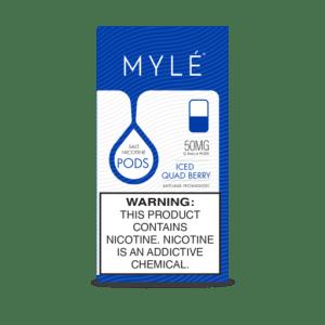 MYLÉ POD V.4 Iced Quad Berry