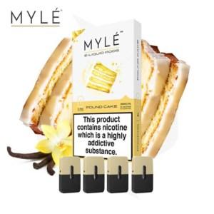MYLE Pods Pound Cake