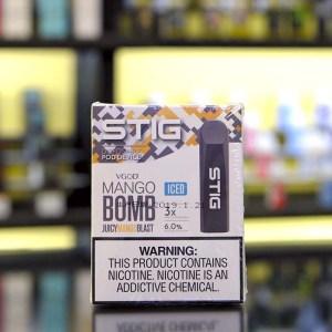 STIG Disposable Pod Mango Bomb ICED