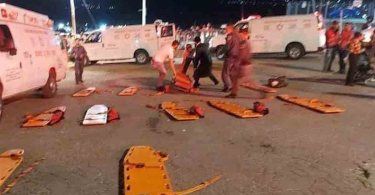 At least 48 people have been killed in a stampede during a religious celebration in Israel