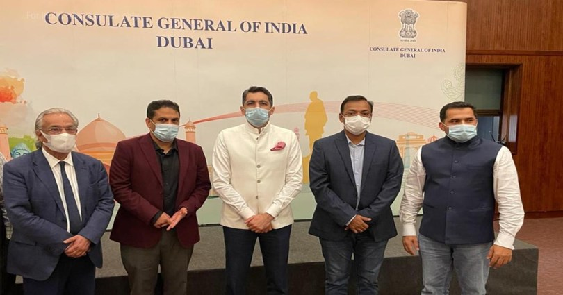 Vaccination should be given to Indians on visiting visa in UAE; KMCC leaders meet Indian Consul General in Dubai_DUBAIVARTHA_UAE_MALAYALAMNEWS