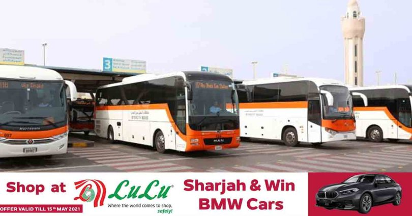 Sharjah Roads and Transport Authority launches more bus services during Eid