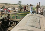 More than 35 killed in train collision in Pakistan Many were injured