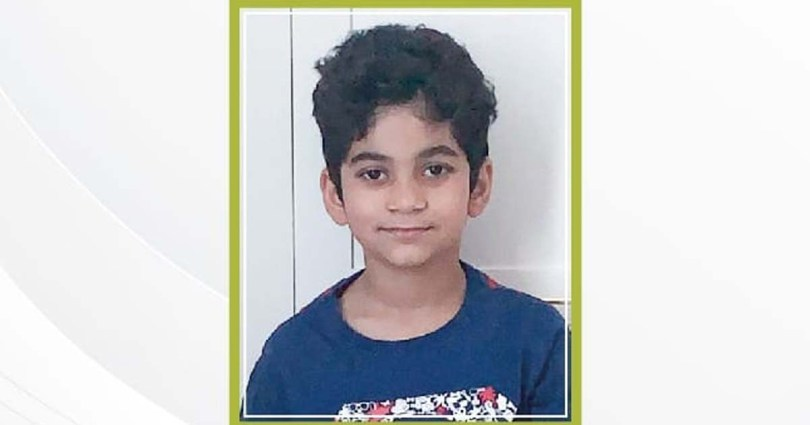 A fifth-grader from Mumbai, who was being treated for a car accident, has died in Sharjah.