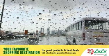 Chance of rain in many parts of the UAE over the weekend_DUBAIVARTHA