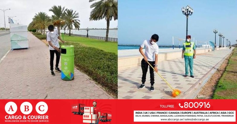 Sharjah: Two men have been ordered to clean streets, parks and beaches for dangerous driving.