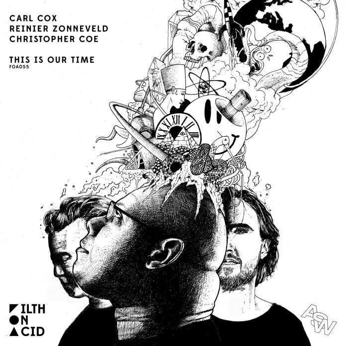 """Carl Cox + Reinier Zonneveld + Christopher Coe """"This Is Our Time EP"""" ile ilgili görsel sonucu"""