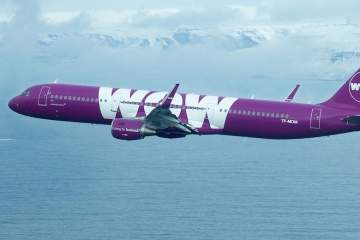 WOW air aircraft