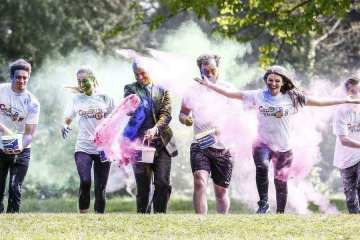Irish Cancer Society Colour Dash 2016