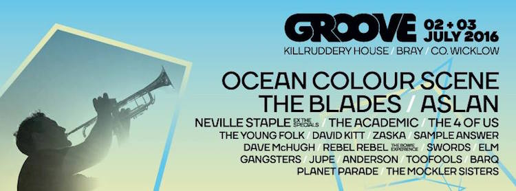 Groove Festival line-up 2016