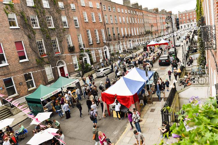 Bloomsday Street Party 2015