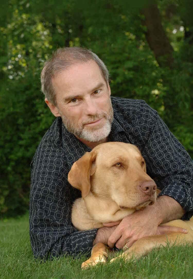 John Grogan and pooch