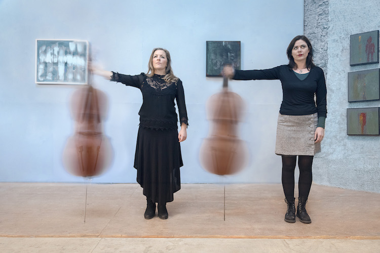 Lioba Petrie & Mary Barnecutt - Photo Laura Sheeran
