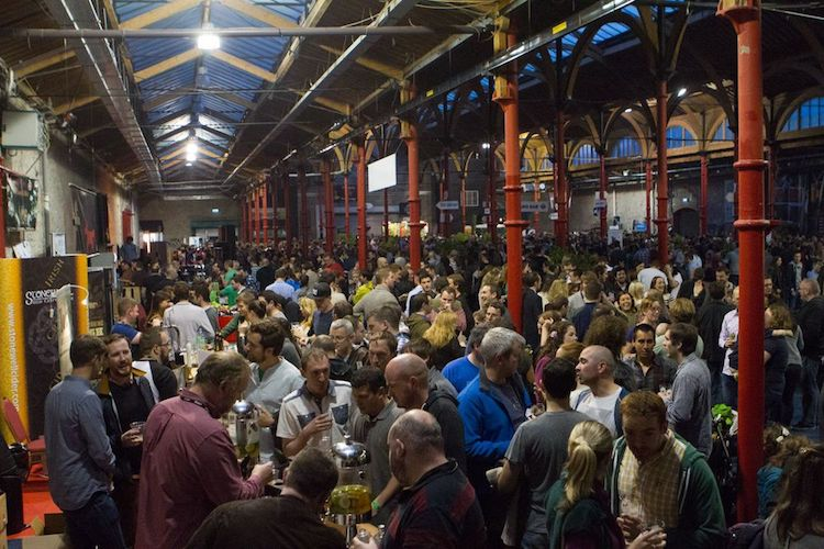 Irish Craft Beer festival crowds