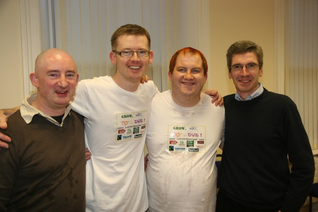 Ordinands get waxed, dyed and shaved for Bishops' Appeal