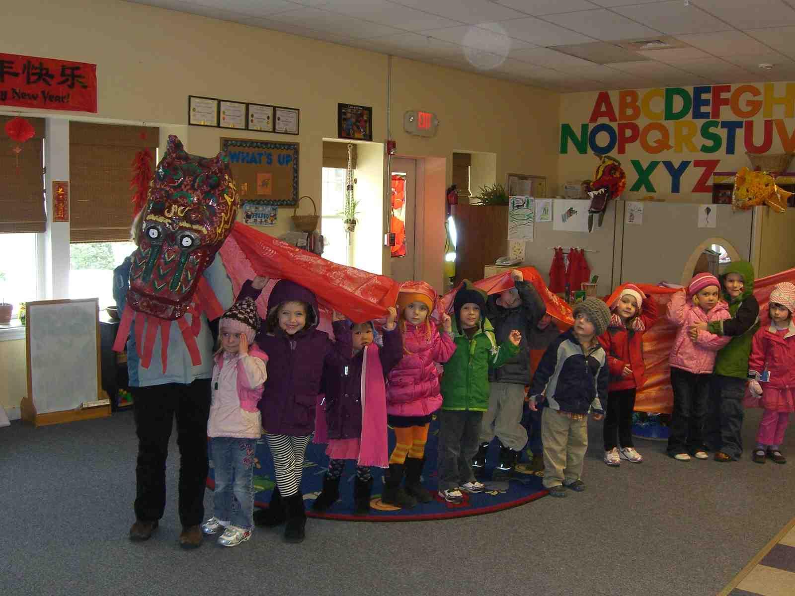 Preschool Celebrates Year Of The Dragon The Dublin Advocate