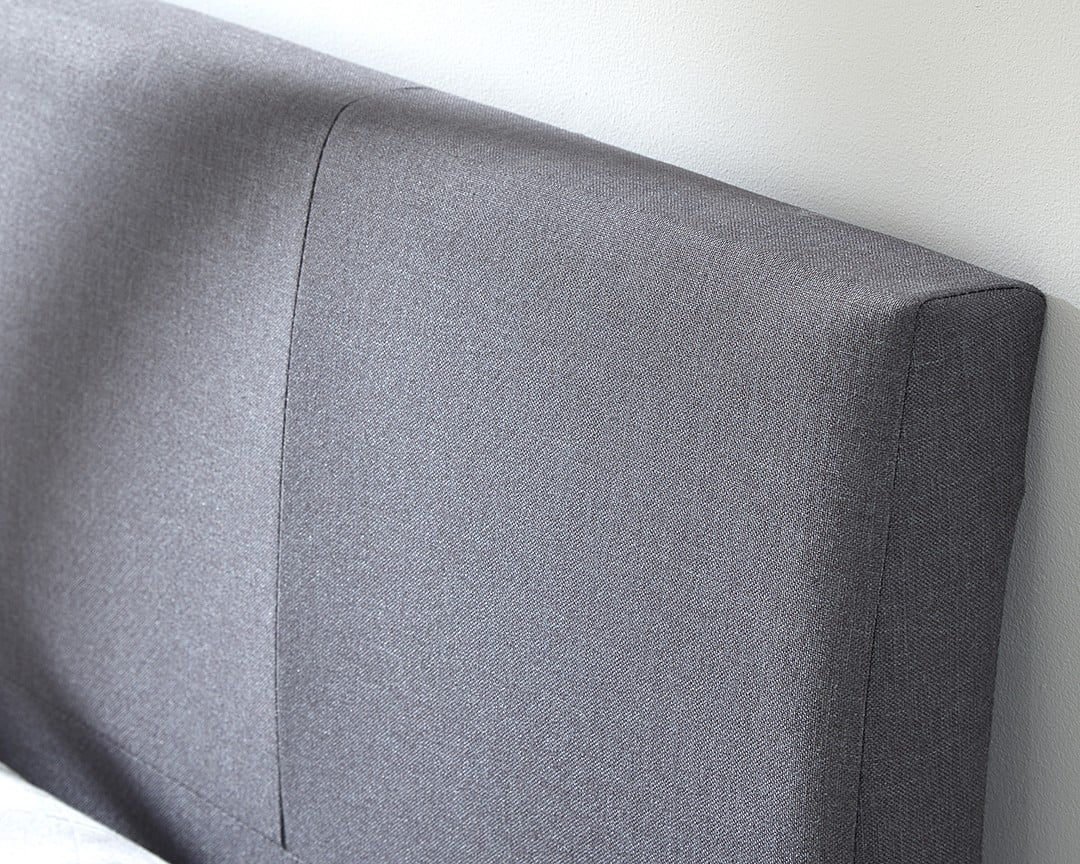 Alaska Grey Single Ottoman Bed Frame