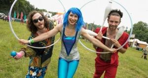 Hula Hoop and Juggling
