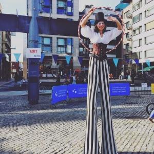 Stilts and Hula Hoop