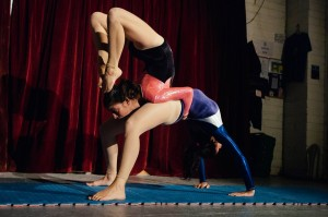 Partner Contortion