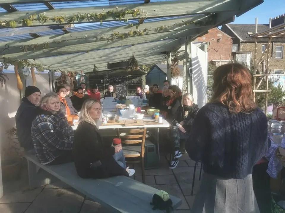 Workshop at Mud Island Community Garden