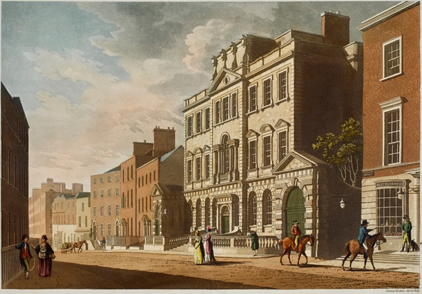 William St, The Central Assmbly House and Powerscourt House, by Malton