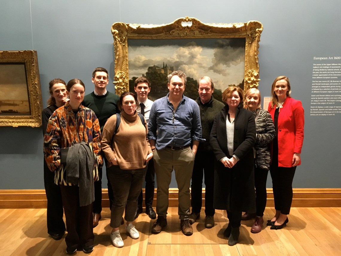 Arra on a Dublin DEcoded How to Read a Painting Tour NGI 2018