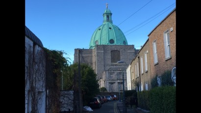 SM Immac Refuge of Sinners (by Patrick Byrne) fro Bessborough Parade copyright Arran Henderson and Dublin Decoded