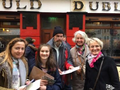 Treasure Hunt Friday 30 Dec 2016 with Arran Henderson & Dublin Decoded tours